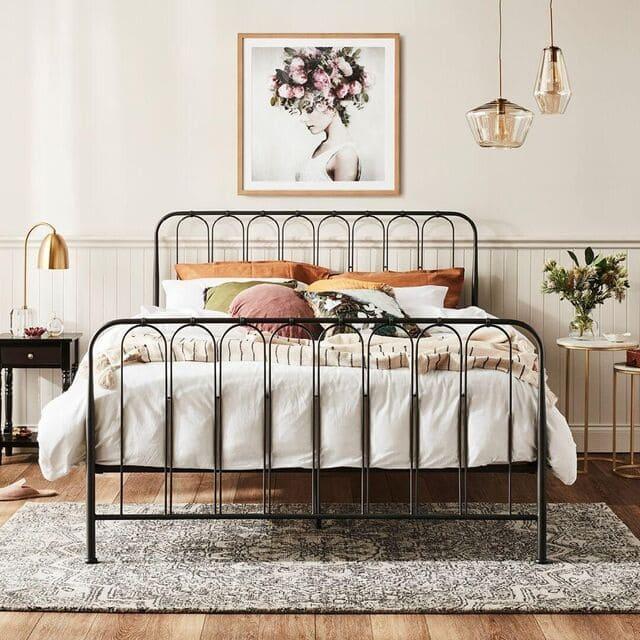 cama de metal