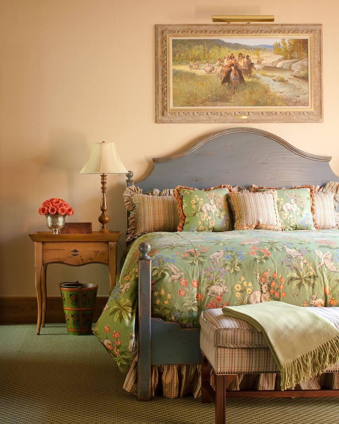 cama-estilos-country