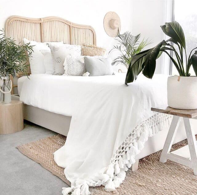 cama de estilo marino