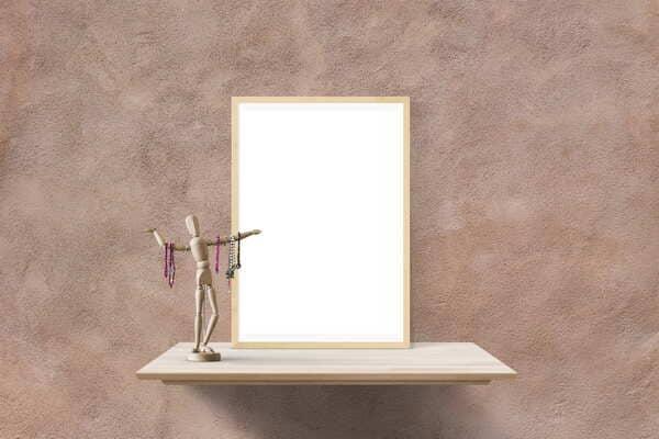 Scaffali-attaccare-uno-specchio-al-muro-senza-chiodi